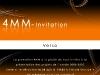 Carton invitation 4MM